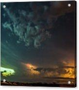 Epic Nebraska Lightning 005 Acrylic Print