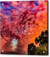 Epic Sunset Acrylic Print