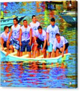 Epiphany Boys Acrylic Print
