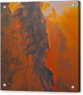 Epsilon Eridani A Stellar Spire In Eagle Nebula Acrylic Print by Jim Ellis