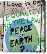 Equality Before The Law Acrylic Print