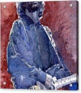 Eric Clapton 04 Acrylic Print