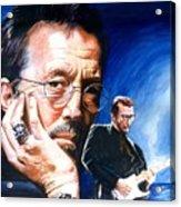 Eric Clapton Blues Lake Acrylic Print