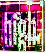 Eric Dolphy On A Jazz High Acrylic Print