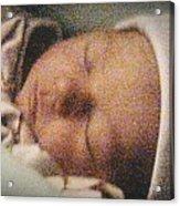 Erika Sleeping Acrylic Print