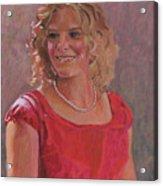 Erin Hiatt - Junior Miss 2009 Acrylic Print
