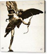 Eros Statue Acrylic Print