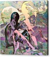 Eroscape 1009 Acrylic Print