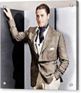Errol Flynn, Ca. 1930s Acrylic Print by Everett