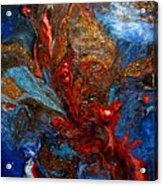 Eruption In The Deep Acrylic Print