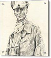 Erwin Rommel Acrylic Print