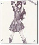 Erza - Fairy Tail Acrylic Print