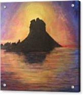 Es Vedra Sunset I Acrylic Print