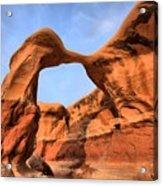Escalante Metate Arch Acrylic Print