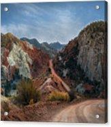Grand Staircase Escalante Road Acrylic Print