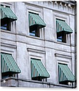 Escambia County Courthouse Windows Acrylic Print