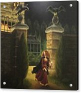 Escape From Raven Manor Acrylic Print by Karen Coombes