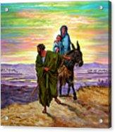 Escape Into Egypt Acrylic Print