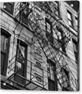 Escape Ladders  Acrylic Print