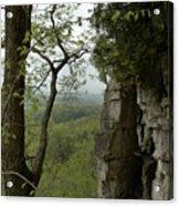 Escarpment Tunnel Acrylic Print