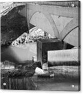 Escher Bridge Acrylic Print