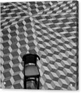 Escher-like Chair Acrylic Print
