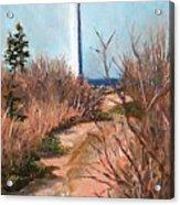 Escuminac Lighthouse Acrylic Print