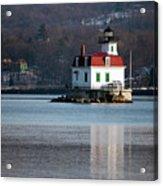 Esopus Lighthouse In December Acrylic Print