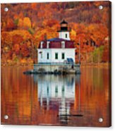 Esopus Lighthouse In Late Fall #3 Acrylic Print