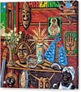 Espiritualidad Africana Acrylic Print