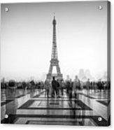 Esplanade Du Trocadero Acrylic Print
