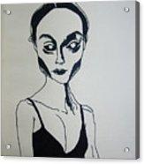 Essence Of Black Dimension Acrylic Print
