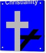 Essence of Christianity Acrylic Print