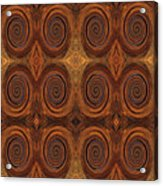 Essence Of Rust - Tiled Acrylic Print