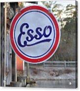 Esso Sign  Acrylic Print