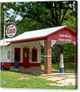 Esso Station Acrylic Print