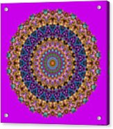 Estate Jewels Mandala No. 2 Acrylic Print