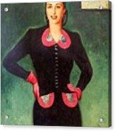 Estela Mora De Albarran Acrylic Print