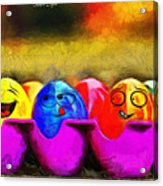 Ester Eggs - Pa Acrylic Print