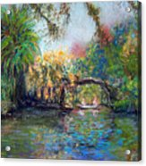 Estero River At Koreshan Acrylic Print