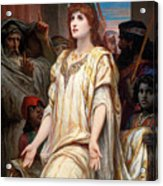 Esther Before Ahasuerus Acrylic Print