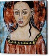 Esther Acrylic Print by Rain Ririn