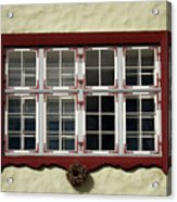 Estonian Window Acrylic Print