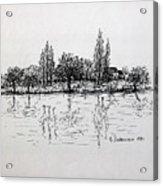 Etang Acrylic Print