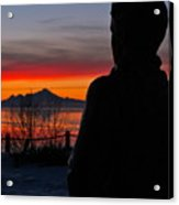 Eternal Sunset Acrylic Print