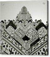 Ethereal Beauty Of Wat Arun Acrylic Print