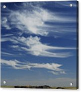 Ethereal Clouds Acrylic Print