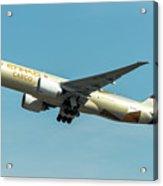 Ethiad Cargo Boeing B777 Acrylic Print