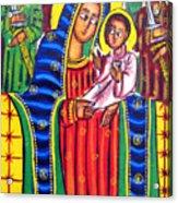 Ethiopian Mary And Jesus Acrylic Print