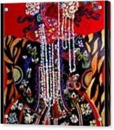 Ethnic Woman Acrylic Print